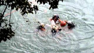 2013夏 青梅市・釜の淵で溺死事故発生(水難者映ります、ご注意) thumbnail