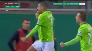Schalke 04 4 1 VfL Wolfsburg Mario Gomez Goal 07.04.2017