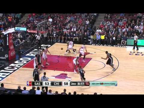 San Antonio Spurs vs Chicago Bulls   November 30, 2015   NBA 2015-16 Season