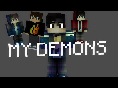 My Demons  Minecraft Song Animation