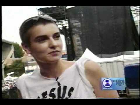 Lilith Fair 1998 02 - Sinéad O'Connor interview and Indigo Girls, Jewel & Sarah M-the Water is Wide
