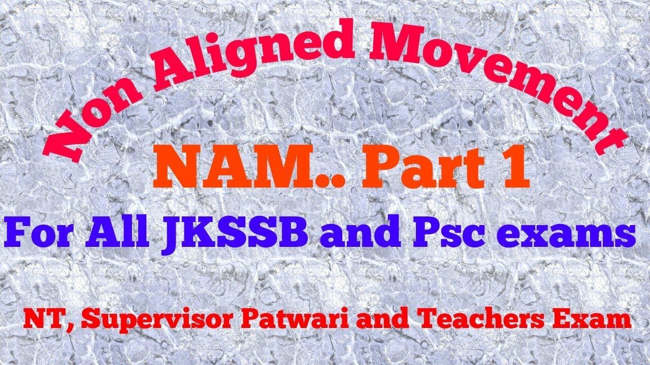 non aligned movement in hindi