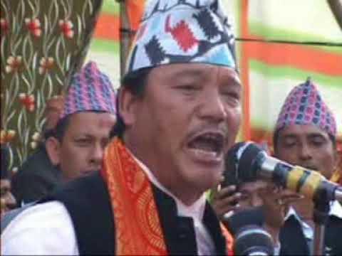 Bimal Gurung - A Historical Speech || AAGSU || Gorkhas of India