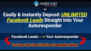 Lead Ads Facebook - How To Setup Facebook Lead Generation Ads