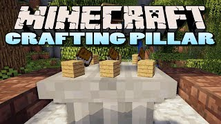 Minecraft: Crafting Pillar Mod | Epic New Way of Crafting!