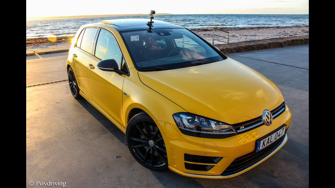 2016 volkswagen golf r the popcorn machine doovi. Black Bedroom Furniture Sets. Home Design Ideas