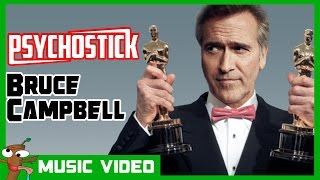 """Bruce Campbell"" by Psychostick [Official] Ash Tribute Song Evil Dead"