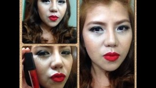 Red Lip Makeup Thumbnail