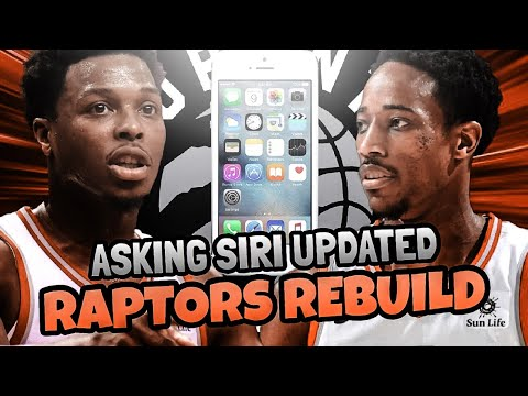 REBUILDING THE TORONTO RAPTORS ASKING SIRI(UPDATED) NBA 2K18 MY LEAGUE!