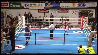 Nyrkkeily - boxing: Dodji Ayihag BEL - Wael Al Khaghani FIN 3-0
