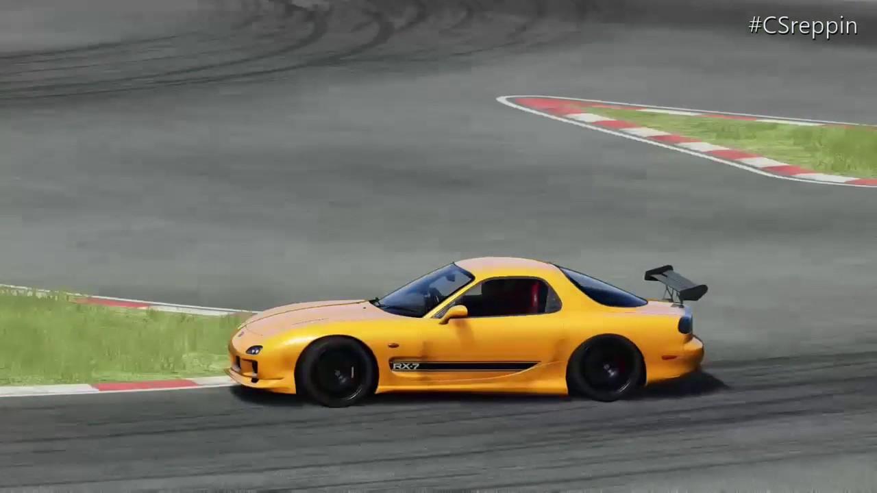Assetto Corsa: Mazda RX-7 Tuned Drift Setup | w/Logitech G920