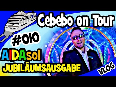 Cebebo on Tour - #010 Jubiläumsfolge xtra large. Alles über AIDAsol, den Kidsclub und Madeira