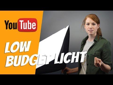 [YouTube] Günstiges Licht & Beleuchtung für professionelle Videos ► Unser Studio