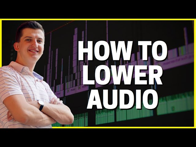 How To LOWER Audio in Premiere Pro!