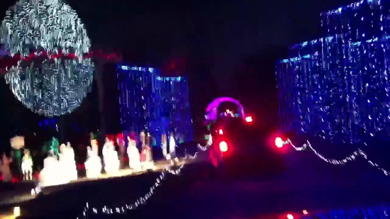 santas wonderland college station tx youtube - Christmas Lights College Station