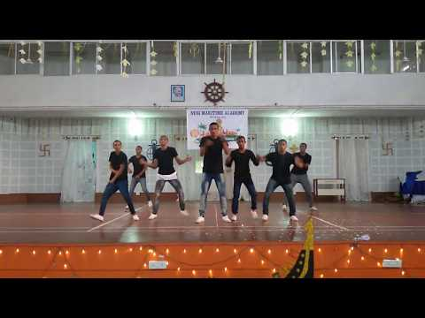Be-boy group hiphop dance in NUSI MARITIME ACADEMY batch GP-78