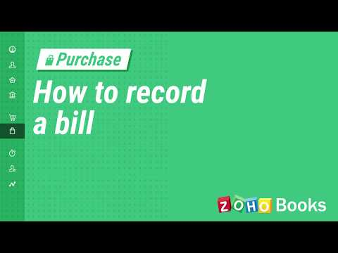 how-to-record-a-bill-|-zoho-books