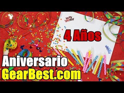 Ofertas Especiales en GearBest por el 4to Aniversario!!! - DrogaDigital