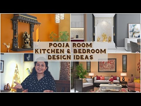 Pooja Room, Kitchen & Bedroom Design Ideas | | Livspace Design Solutions E 3