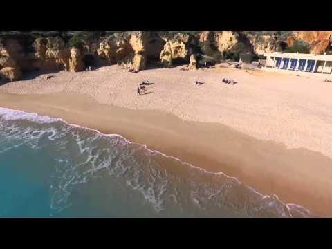 DJI Inspire 1: praia de São Rafael