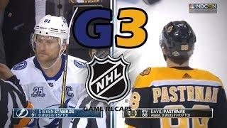 Tampa Bay Lightning vs Boston Bruins. 2018 NHL Playoffs. Round 2. Game 3. 05.02.2018. (HD)