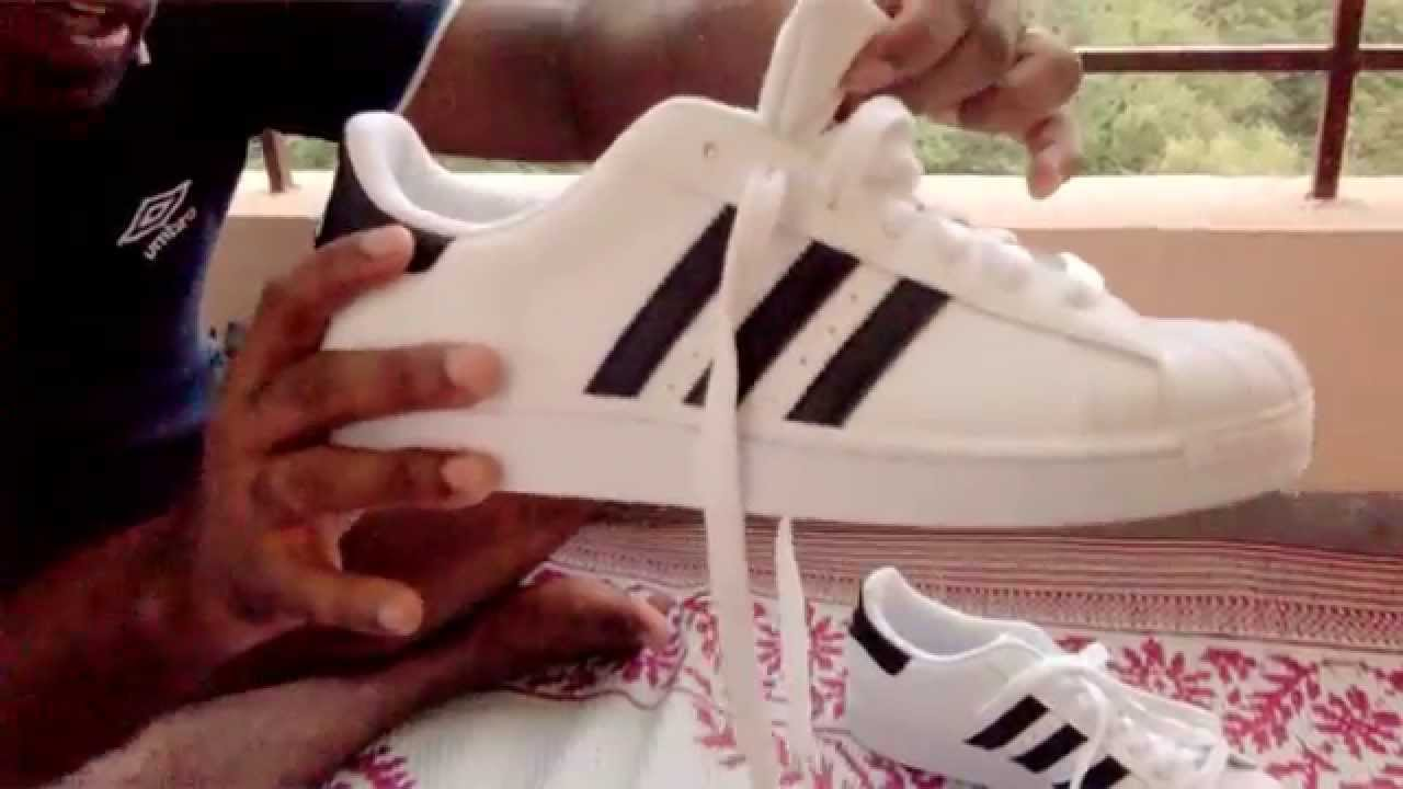 a7ce4f067c5c Adidas superstar 2 white full on review - YouTube