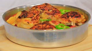 صينية بطاطس بالدجاج | سالي فؤاد