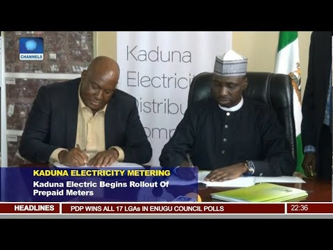 Kaduna Electric Begins Rollout Of Prepaid Meters Pt.3 |News@10| 05/11/17