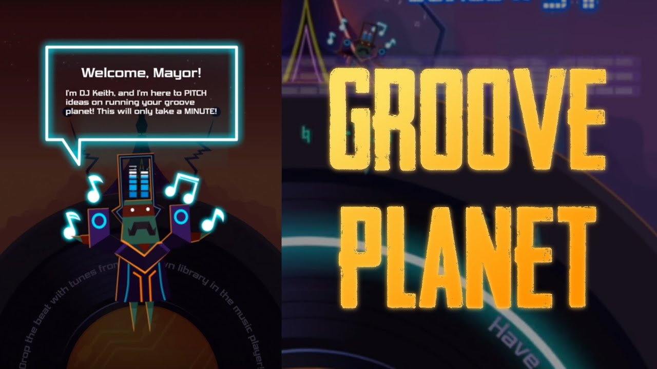 groove planet the music game for iPhone & iPad 2018