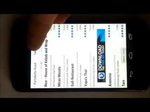 Restaurant Finder Android App