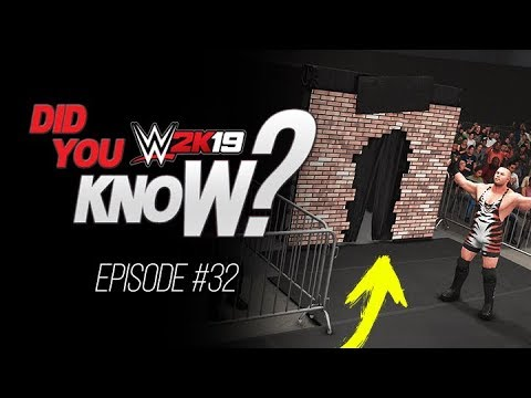WWE 2K19 Did You Know? Minitrons at Ringside, Mixed Reactions, New Year &  More (Episode 32)