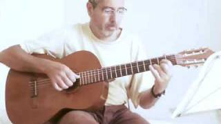 The sound of silence - acoustic guitar