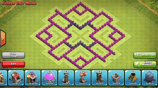Clash Of Clans - Town Hall 7 Farming Base Speed Build (Hydra)