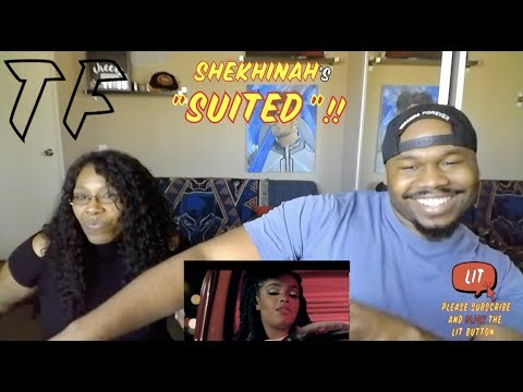 MOM says YES and NO to the Tattoos | Shekhinah - Suited | TF Reaction
