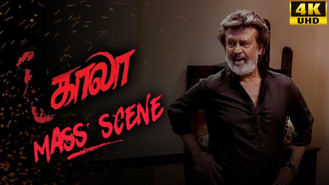 Download Kaala (Tamil) - Mass Scene   Rajinikanth   Nana Patekar   Huma Qureshi   4K [with Subs]