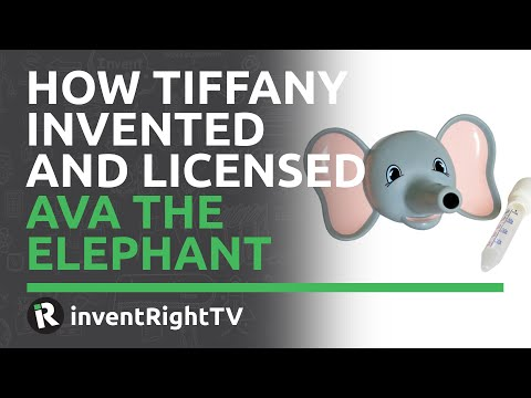 How Tiffany Invented and Licensed Ava the Elephant