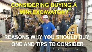 Tips to Consider When Buying a Mini Excavator