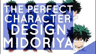 The Perfect Character Design Midoriya