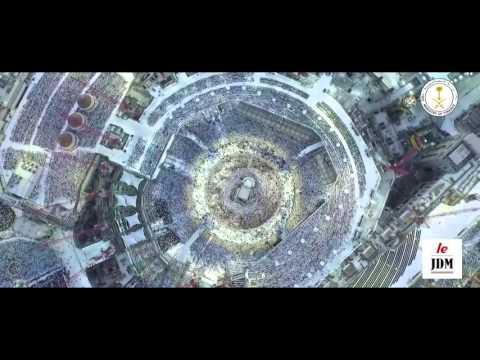 Une vidéo à couper le souffle : la kaaba vue d'un drone