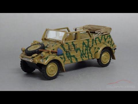Volkswagen Kübelwagen 1/43 Hongwell / Cararama