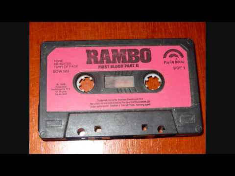 Rambo First Blood Part II - 1980's Cassette & Read-Along Book Recording By Rainbow