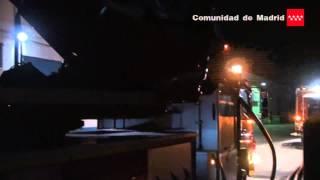 22.05.2014 Incendio nave industrial San Fernando de Henares