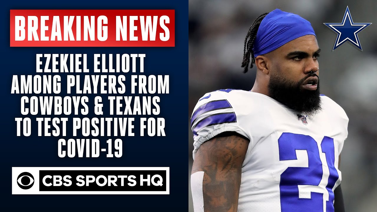 Ezekiel Elliott, other NFL players test positive for coronavirus