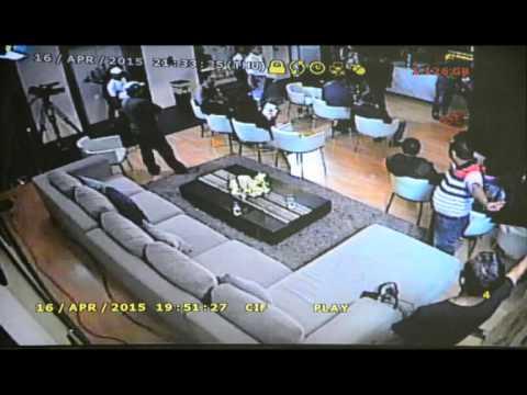 VIDEO CCTV AKSI PEMUDA PANCASILA MEMUKUL SALEH MUKADAR