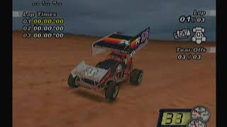 World of Outlaws SprintCars 2002 PlayStation 2 Long Play