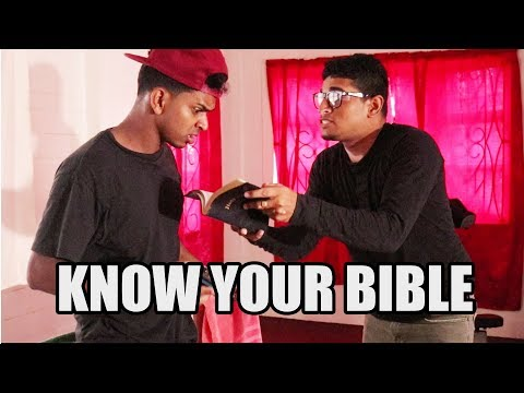 Know Your Bible - Caribbean Comedy
