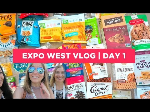 Vegan at Expo West Vlog ☀️Day 1