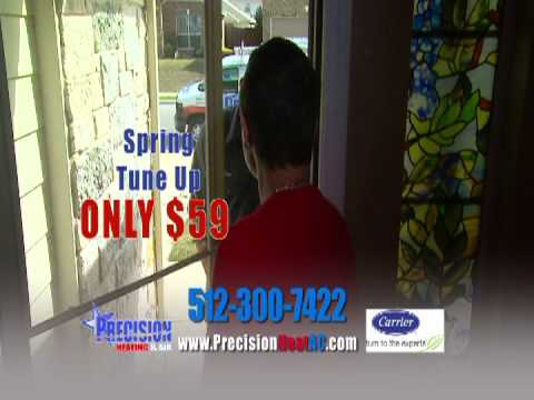 Save Money With Precision Heating & Air, LLC. 512-300-7422