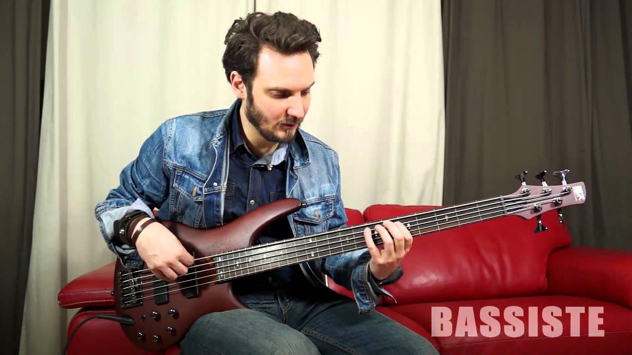 test ibanez sr505f bassiste magazine 47 youtube
