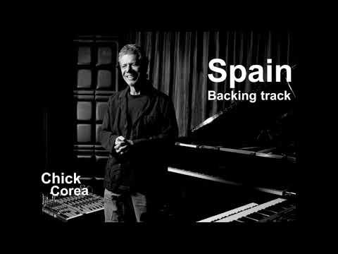 SPAIN/CHICK COREA/backing track/karaoke